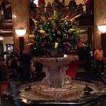 Fountain at the Peabody Hotel