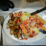 Maine - Wells - Maine Diner - Lobster Benedict