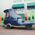 Maine - Freeport - LL Bean - Blue Boot Truck