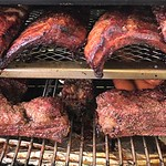 Pork and Beef Ribs and Beef Sausage