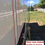 Refrigerator Access Door